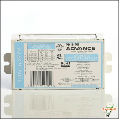 Advance Smartmate Icf 2s13 H1 Ldk Compact Fluorescent